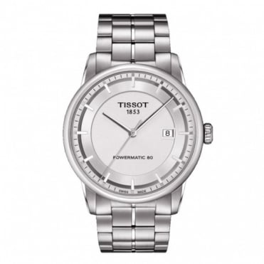Tissot Gents S/Steel T-Classic Powermatic 80 Watch T0864071103100