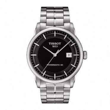 Tissot Gents S/Steel T-Classic Powermatic 80 Watch T0864071105100
