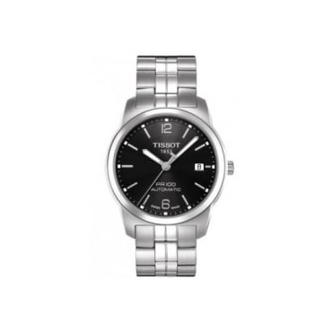 Tissot Gents S/Steel T-Classic PR100 Automatic Watch T0494071105700