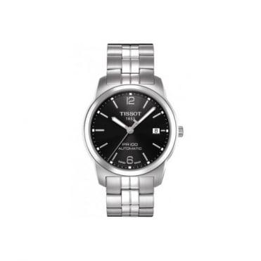 Tissot Gents S/Steel T-Classic PR100 Automatic Watch T0494071105700