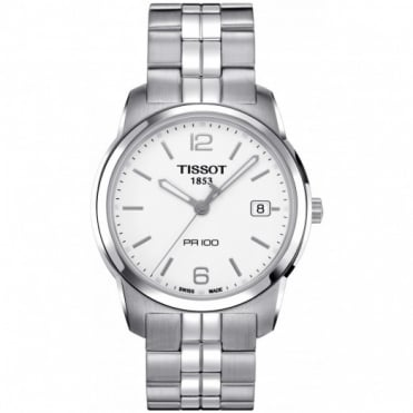 Tissot Gents S/Steel T-Classic PR100 Watch T0494101101700