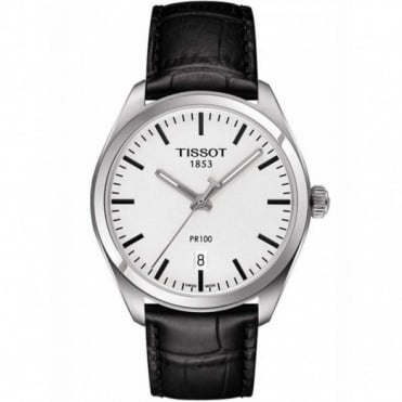 Tissot Gents S/Steel T-Classic PR100 Watch T101.410.16.031.00
