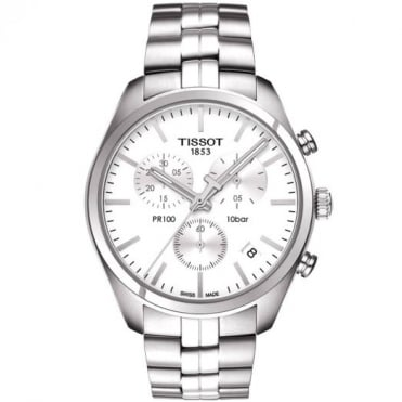 Tissot Gents S/Steel T-Classic PR100 Watch T101.417.11.031.00
