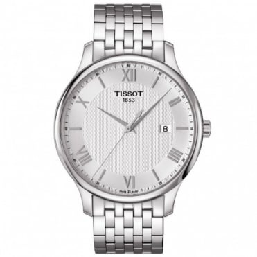 Gents S/Steel T-Classic Tradition Watch T063.610.11.038.00