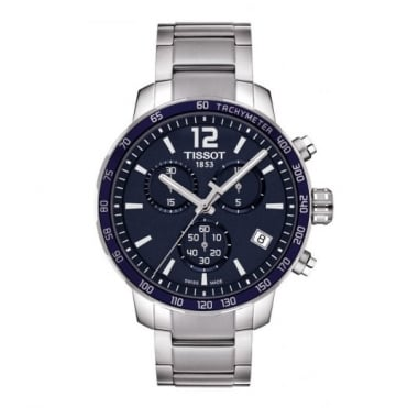 Tissot Gents S/Steel T-Sport Quickster Watch T095.417.11.047.00