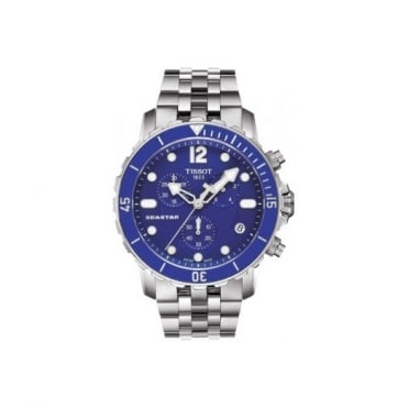 Tissot Gents S/Steel T-Sport Seastar Watch T0664171104700