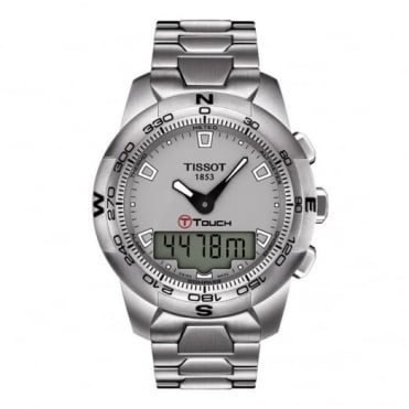 Tissot Gents S/Steel T-Touch II Watch T047.420.11.071.00