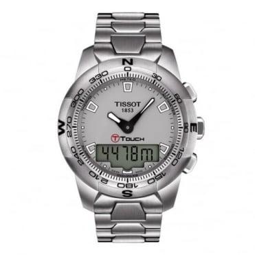 Tissot Gents S/Steel T-Touch II Watch T0474201107100
