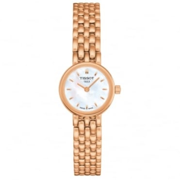Tissot Ladies' Rose Plate Lovely Watch T0580093311100
