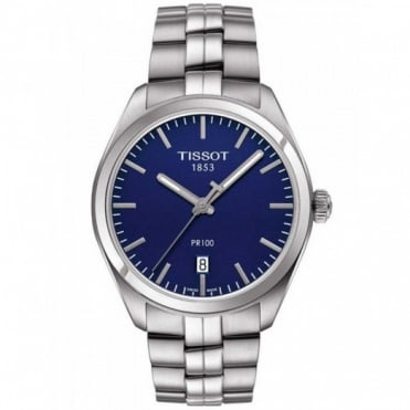 Tissot Ladies S/Steel T-Classic PR100 Watch T101.210.11.041.00