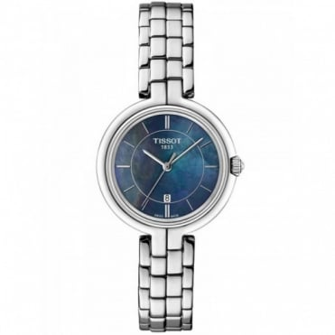 Tissot Ladies S/Steel T-Trend Flamingo Watch T0942101112100