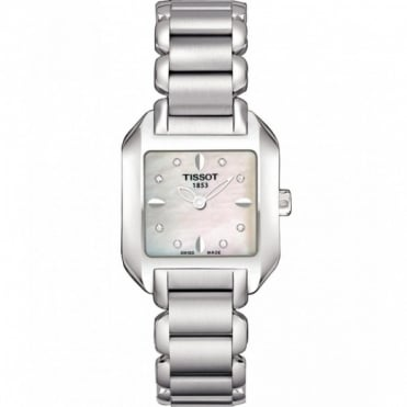 Tissot Ladies S/Steel T-Trend T-Wave Watch T02.1.285.74