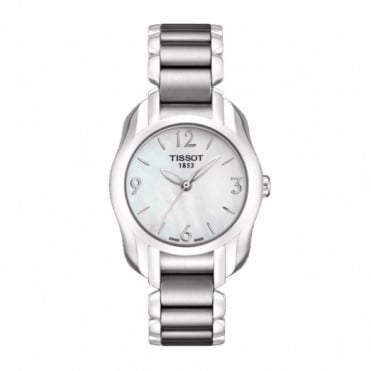 Tissot Ladies S/Steel T-Trend T-Wave Watch T023.210.11.117.00
