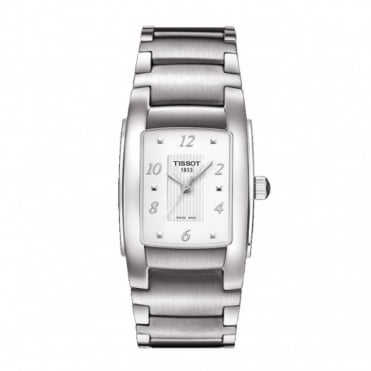 Tissot Ladies S/Steel T-Trend T10 Watch T0733101101701