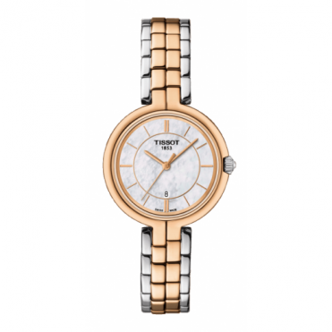 Tissot Ladies Two Tone Flamingo Watch T0942102211100