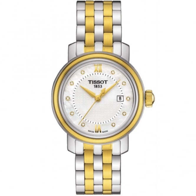 Ladies Two Tone T-Classic Bridgeport Watch T0970102211600