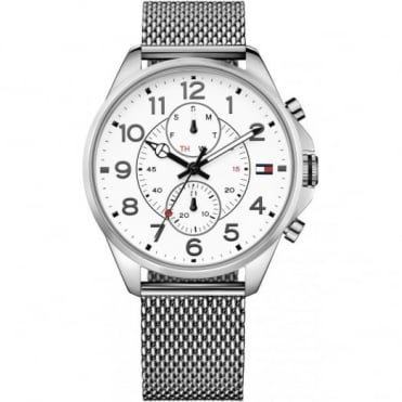 Tommy Hilfiger Gent's Stainless Steel Dean Watch 1791277