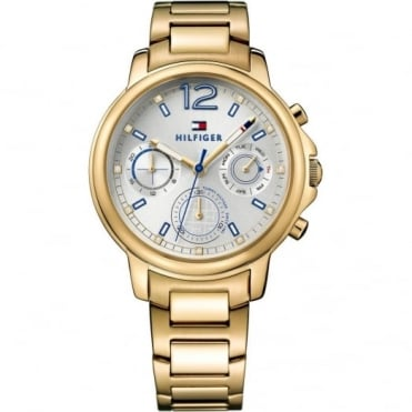 Tommy Hilfiger Ladies' Gold Plate Claudia Watch 1781742