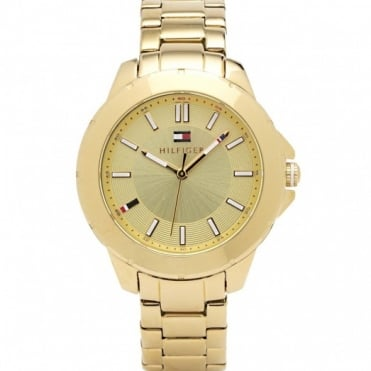 Tommy Hilfiger Ladies Gold Plated Kimmie Watch 1781413