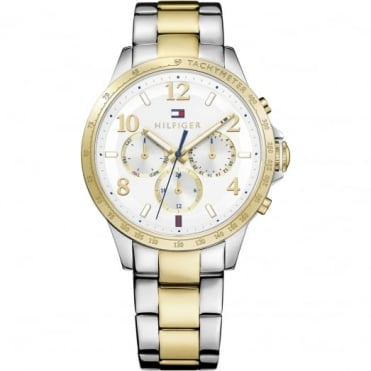 Tommy Hilfiger Ladies' Two Tone Dani Watch 1781644