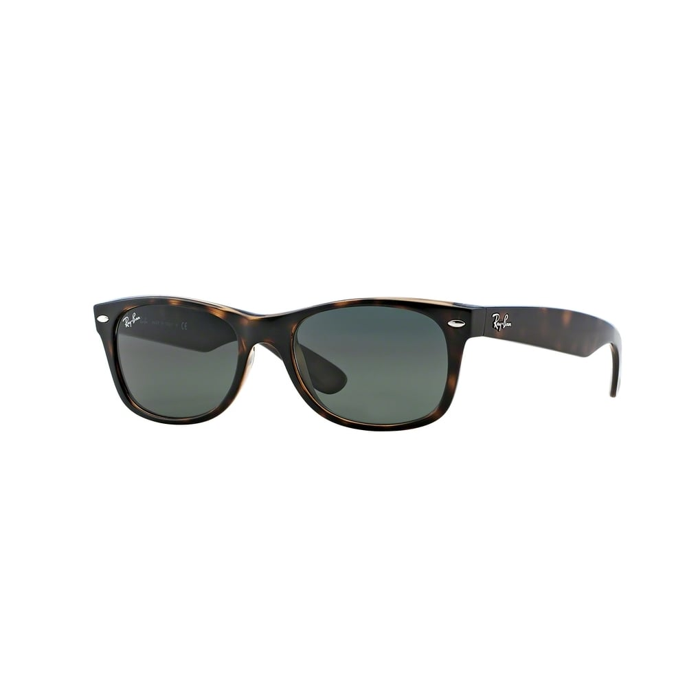 6d441c9ddb Tortoise New Wayfarer Sunglasses RB2132 902 52 - Mens from Hillier ...