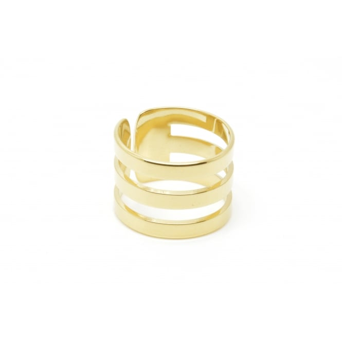 Triple, Gold Ring BA-05.G