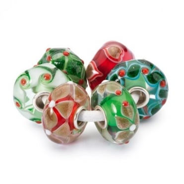 Trollbeads Holly Jolly Beads Kit 00076