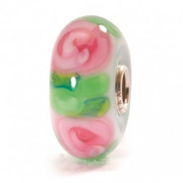 Trollbeads Rose Glass Bead 61372