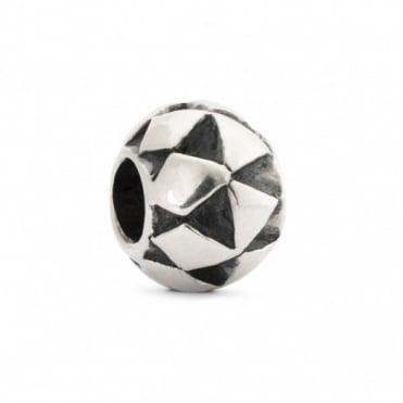 Trollbeads Silver Moroccan Cushion Bead 11373