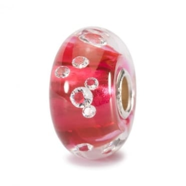 Trollbeads The Diamond Bead, Pink 81006