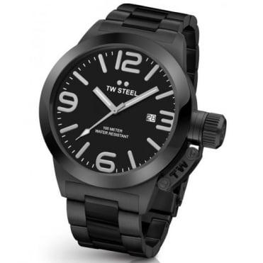TW Steel Men's 45mm Steel Canteen Watch CB211