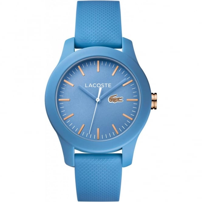 Unisex Blue Rubber 12.12 Watch 2001004