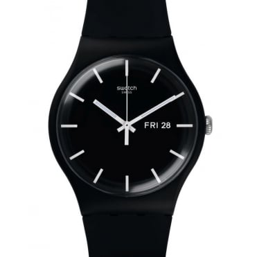 Unisex Mono Black Watch SUOB720