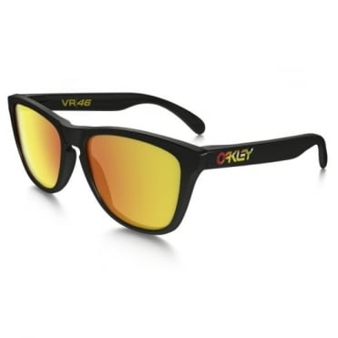 Valentino Rossi Black Frogskins Sunglasses 24-325