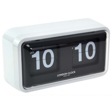 White Case Flip Clock 03164