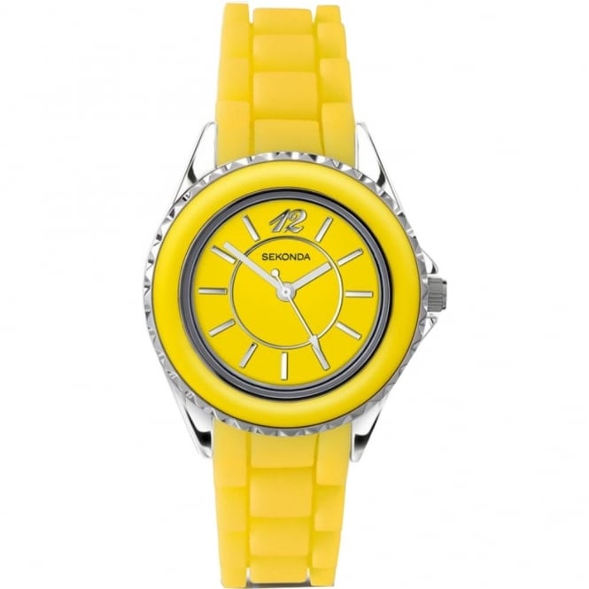 Yellow Ladies Watch 4595